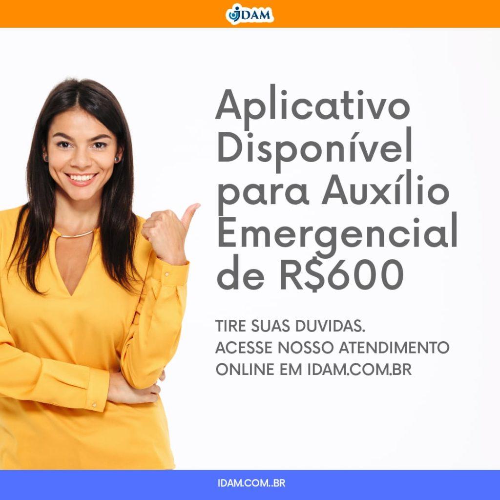 LIBERAÇÃO DO AUXÍLIO DE R$600 DO GOVERNO